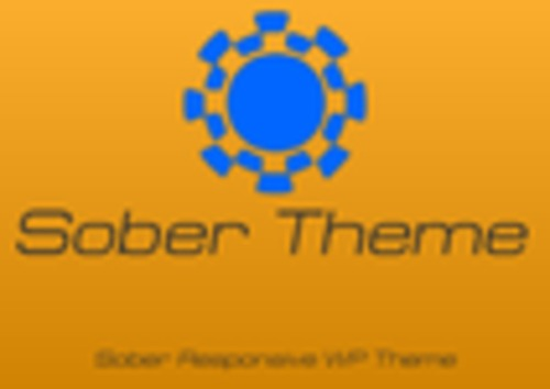 Product picture Sober Wordpress Theme
